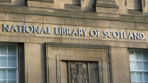 National Library of Scotland talk